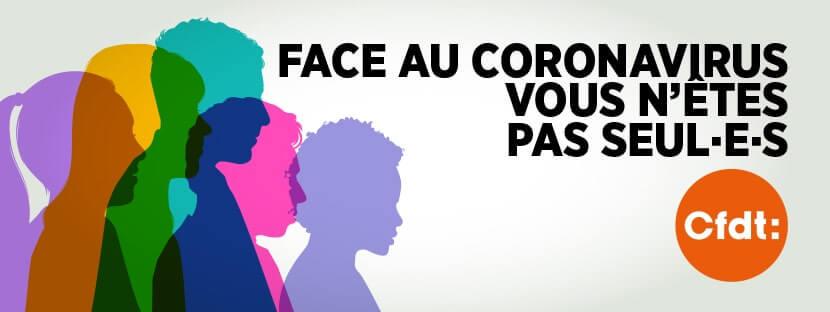 Section CFDT UES Brioche Dorée - Face au coronavirus vous n'êtes pas seules