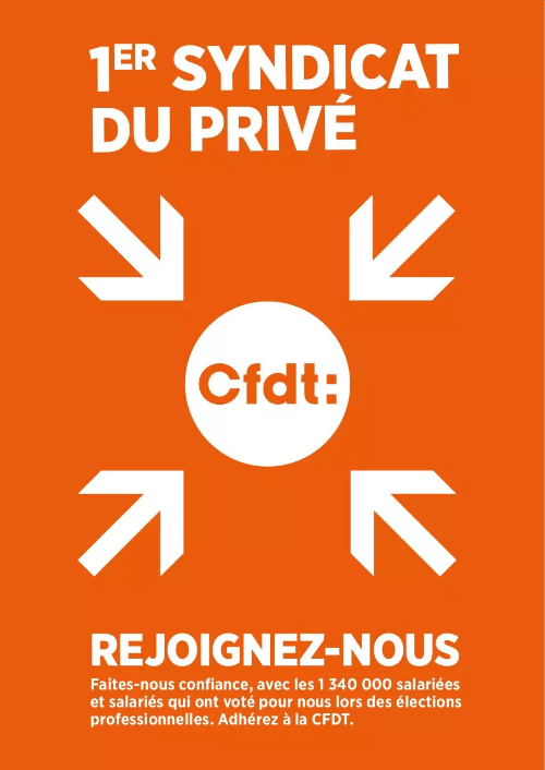 Section CFDT Brioche Dorée - 1er syndicat dans l'entreprise